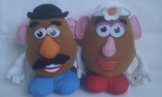 Adorable 'Mr & Mrs Potato Head Toy Story 3' Plush Toys